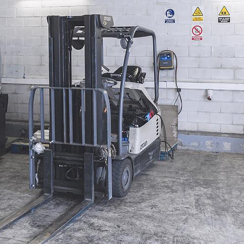 Sala de carga de baterías